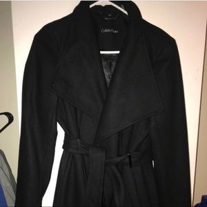 Calvin Klein Pea Coat with tags on! Never worn.